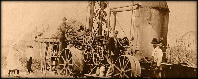 railroad steam machine